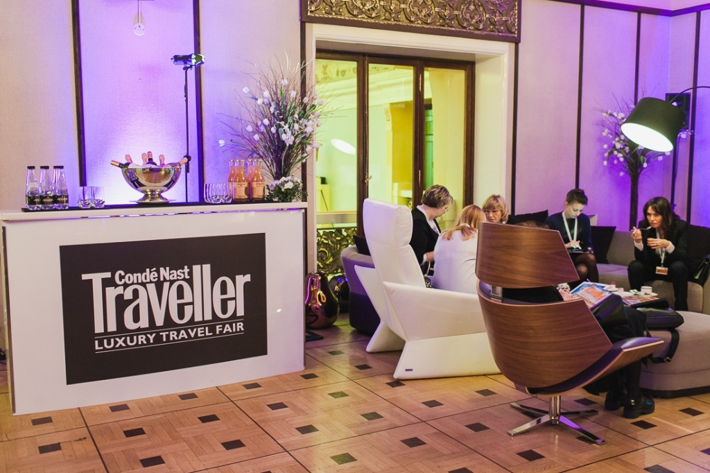Выставка Condé Nast Traveller Luxury Travel Fair